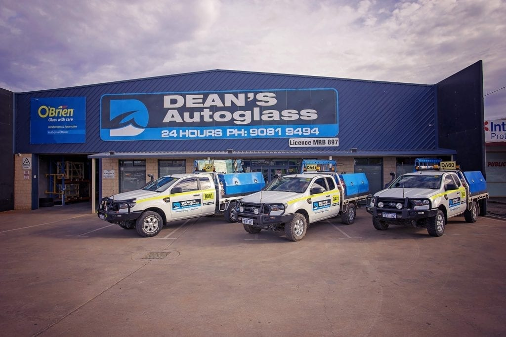 Deans AutoGlass Kalgoorlie Fleet