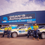 Deans AutoGlass Kalgoorlie Team Crew Outside