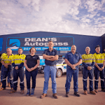 Deans AutoGlass Kalgoorlie Team Outside
