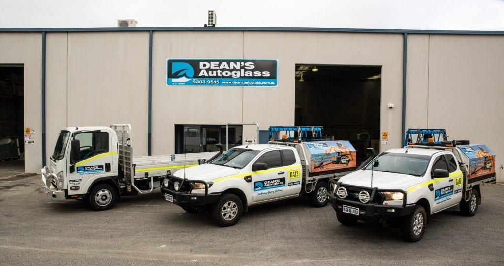 Deans AutoGlass Perth Fleet