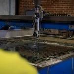 Deans AutoGlass Perth Glass Cutting Jetstream machine