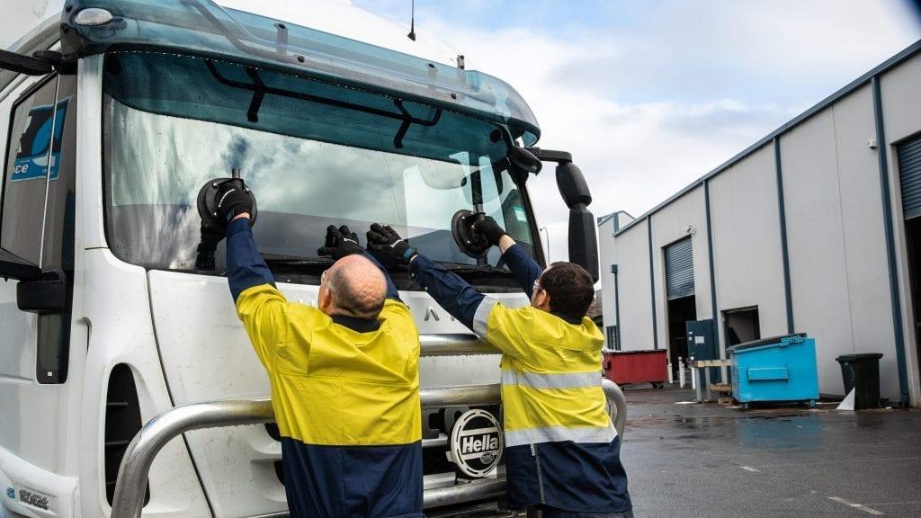 Deans AutoGlass Perth Truck Windscreen Replacement