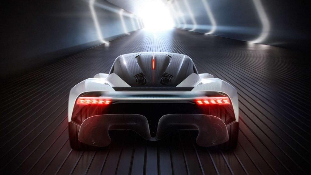 Aston Martin Valhalla - Australia and electric cars