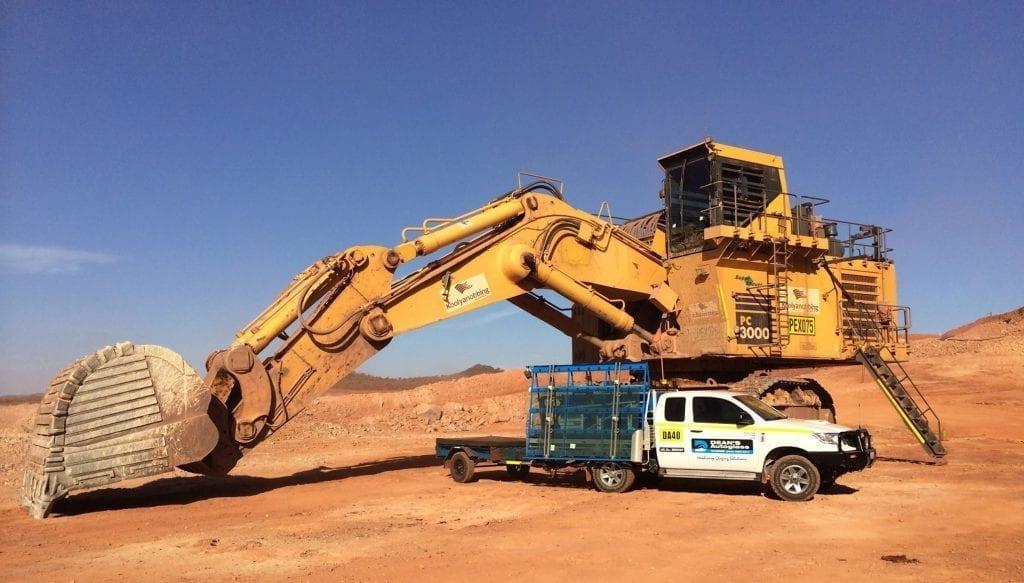 Xir Glass Deans mining