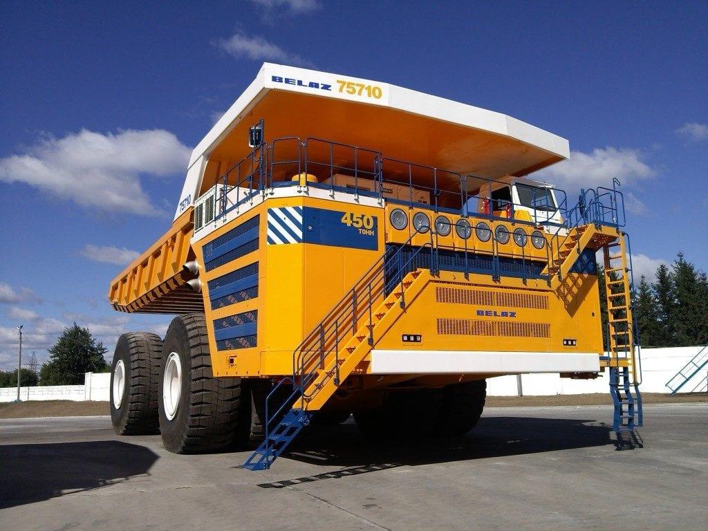 Worlds biggest trucks - belaz 75710