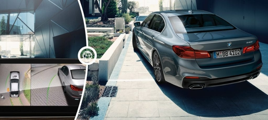 BMW series 5 - self parking feature