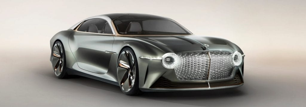 Bentley EXP 100 GT - Australia and electric cars